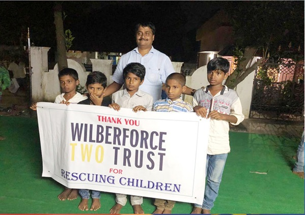 Photo: Rescued Indian Children Recovering Well (Oct 13)